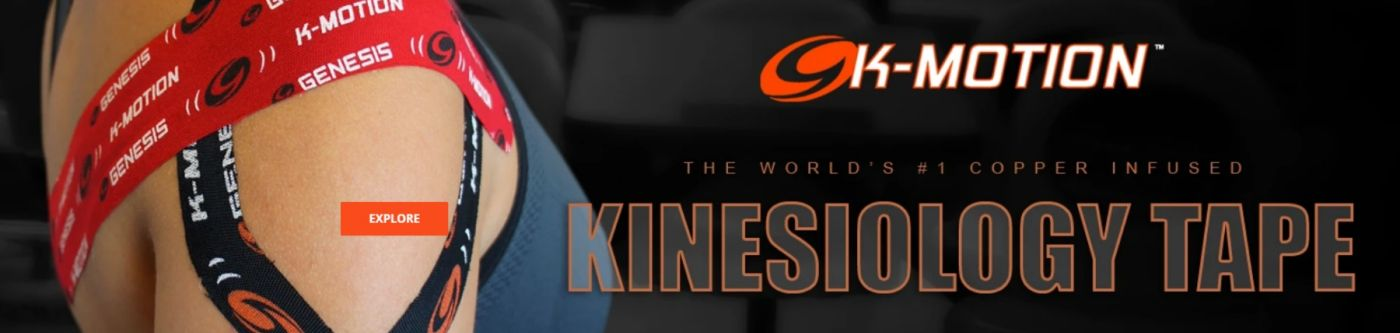 K-MOTION The World's #1 Copper Infused Kinesiology Tape
