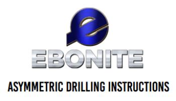 Ebonite Asymmetric Drill Sheet