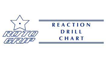 Roto Grip Reaction Drill Sheet