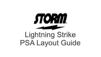 Storm Lightning Strike PSA Drill Sheet
